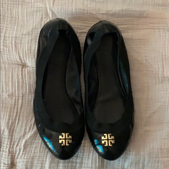 Tory Burch Shoes - Tory Burch Black Flats